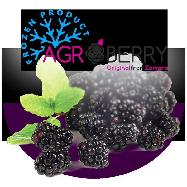 Frozen Agroberry bñackberry